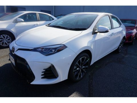 New 2017 Toyota Corolla SE 4dr Sedan CVT