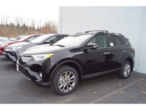 New 2018 Toyota RAV4 AWD Limited 4dr SUV AWD