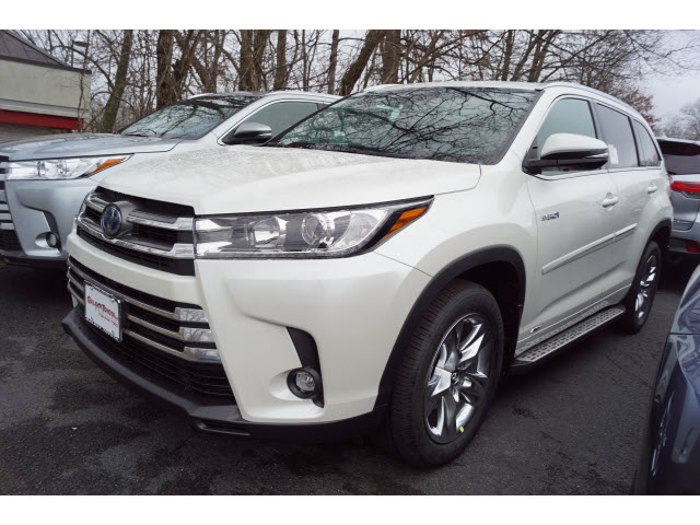 New 2019 Toyota Highlander Hybrid Limited Awd Limited 4dr Suv In