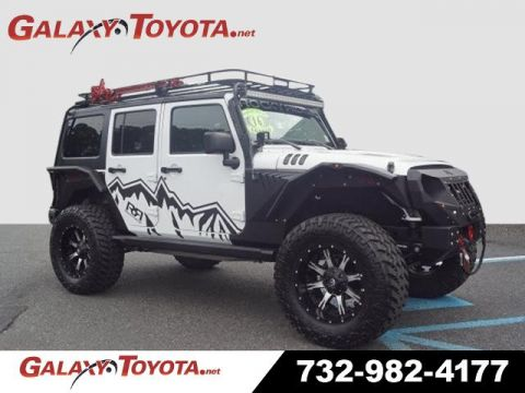 Pre-Owned 2016 Jeep Wrangler Unlimited Rocky Ridge Richard Petty Edition OVER $110K INVESTED 4WD 4x4 Sport S 4dr SUV