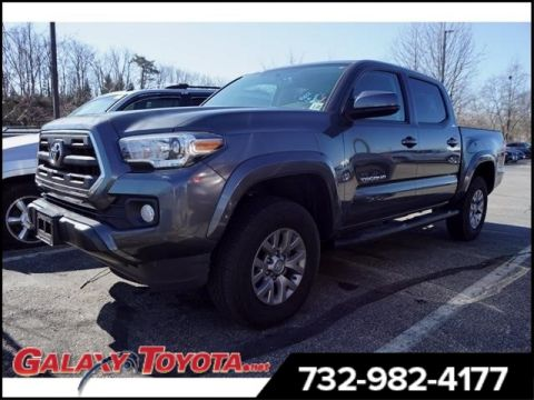 Pre-Owned 2017 Toyota Tacoma 4WD 4x4 SR5 V6 4dr Double Cab 5.0 ft SB
